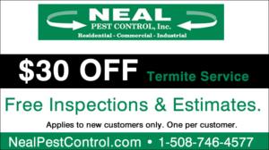 $30 OFF Termite Service